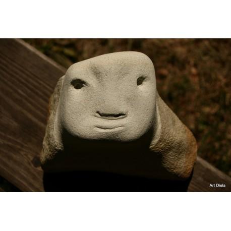 Originálna kamenná socha- pieskovec