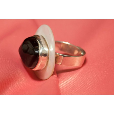 Strieborný prsteň s avanturínom - Ag 925
