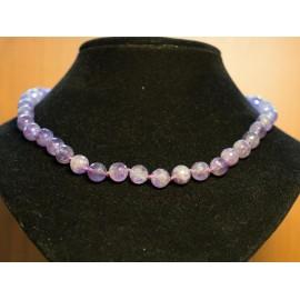 Facetovaný ametyst - náhrdelník