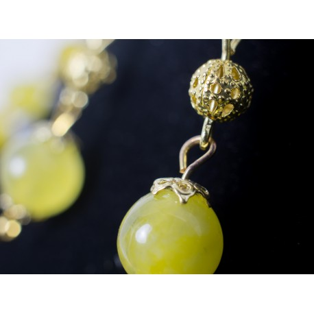 Topas - náhrdelník, náušnice