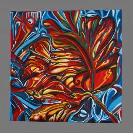 Obraz - Akryl na plátne - Tulipán fantázie - Mgr. Gabriela Žolnová