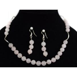 Ruženín - náhrdelník, náušnice