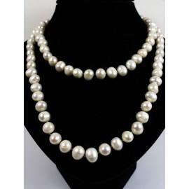 Perly kultivované sladkovodné - náhrdelník