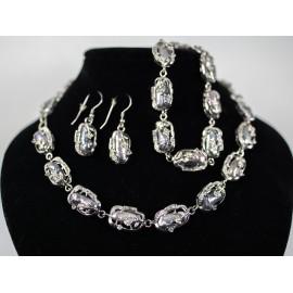 Perla biwa - náhrdelník, náušnice, náramok