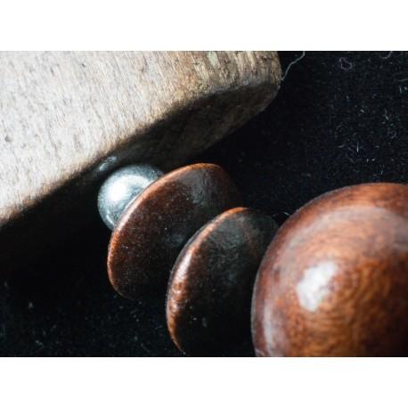 Drevo - náhrdelník, náušnice