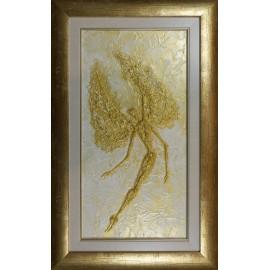 Obraz - Akryl - Zlatý anjel - akad. mal. Alexander Jazykov