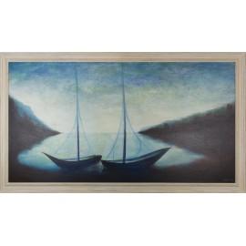 Obraz - V našom jazere - Mgr. Art. Kamil Jurašek