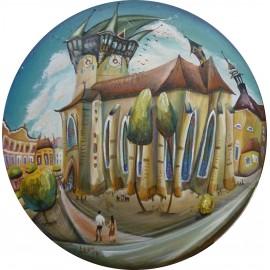 Obraz - Akryl na sololite - Prešov - Mgr. Lucia Chocholáčková