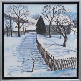 Ing. arch. Eva Lorenzová - Slnečné zimné ráno