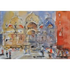 Obraz - Benátky,chrám sv.Marka