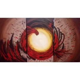 Obraz - Akryl na plátne - Žiara (troj set) - Matúš Baňas