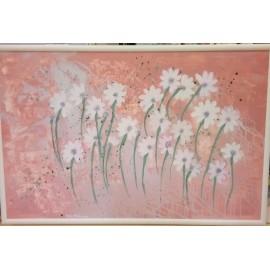 Obraz - Akryl na plátne - Na ružovej lúke - Katarína Haraksimová
