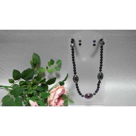 Avanturín modrý - náhrdelník, náramok
