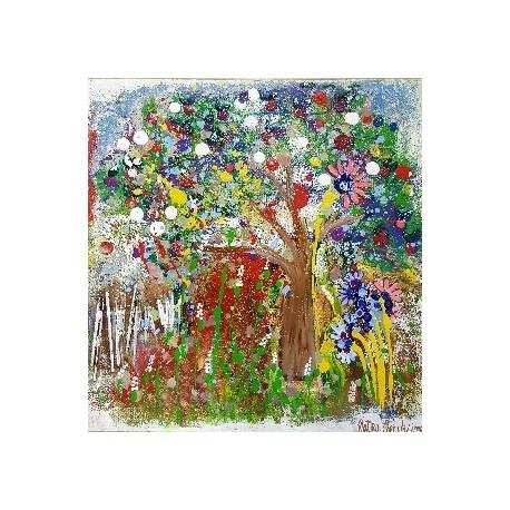Obraz - Rozkvitnutá záhrada