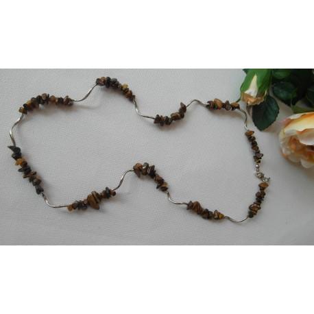 Tigrie oko-náhrdelník