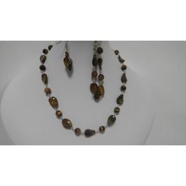 Tigrie oko-náhrdelník-náramok-náušnice