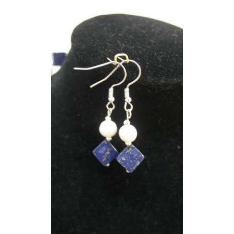 Lapis lazuli-perla-náhrdelník-náušnice