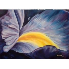 Obraz - Olejomaľba na plátne - Iris - Anna Hirková