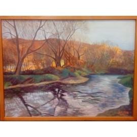 Obraz - Olejomaľba na plátne - Príroda II. - Mgr. Art. Jaroslav Staviščák