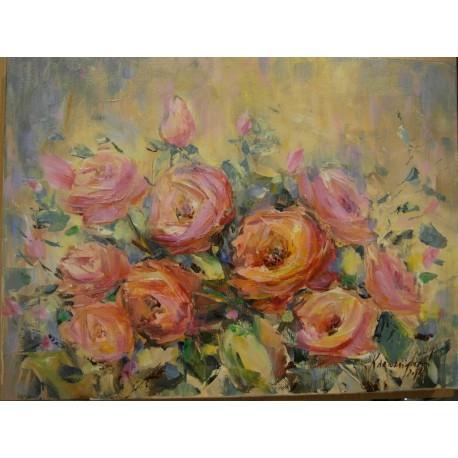 Esther Ksenzsighová - Ruže