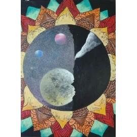obraz - Vesmírna mandala