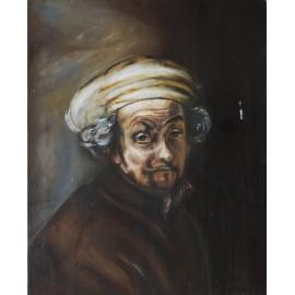 Obraz/Autoportrét - Rembrandt (kópia) - Simona Vagaská