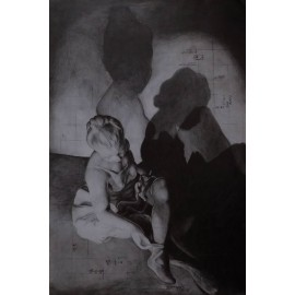 Obraz/Ceruza - Hra tieňov - Simona Vagaská