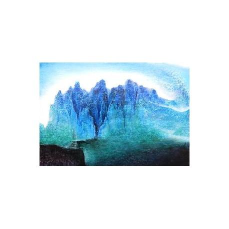 Obraz -pocta horalom I.