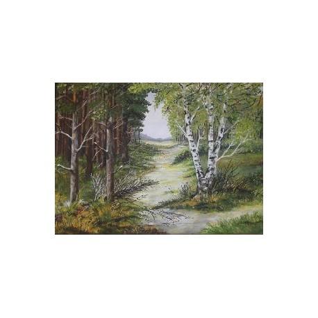 Obraz - Jeseň v lese