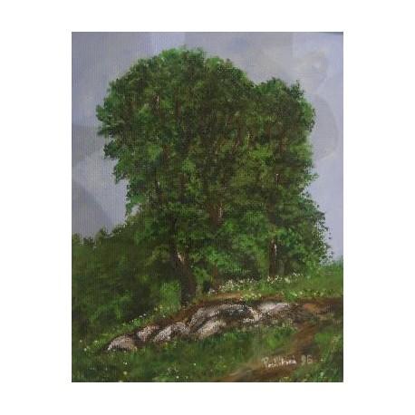 Obraz - Tri stromy
