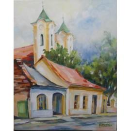 Obraz - Akryl - Pri Františkánoch - Mgr. Margita Rešovská