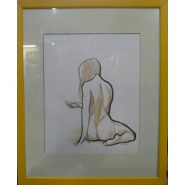 Obraz - Akvarel, tuš - Etuda II - Mgr. Art Kamil Jurašek