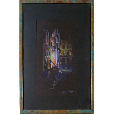 Obraz - Pastel - Venice - Ján Radvanský