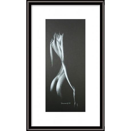 Obraz - Pastel - Akt 24 - Ján Radvanský