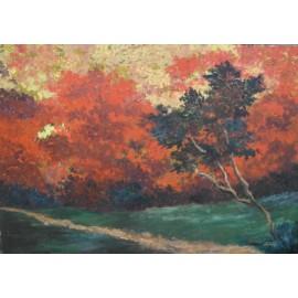Obraz - Olej - Jesenná nálada - Peter Leškovský
