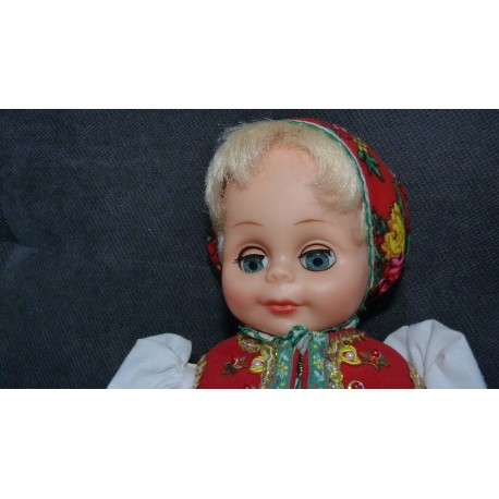 Krojovaná bábika - Mladucha zo Zamutova - Zemplín - ARTDiELA