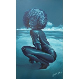 Obraz - Akryl - Afro - Hegedüš Zoltán