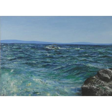 Obraz - Chorvátske vlny