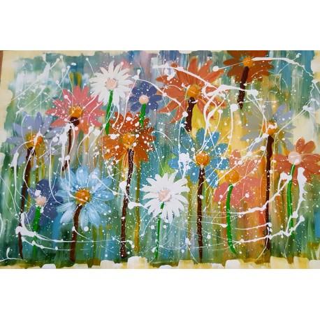 Obraz - Kvety II. - Katarína Haraksimová