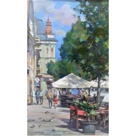Obraz - Olejomaľba - Košice - Na Hlavnej - akad. mal Timour Karimov