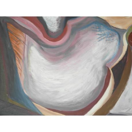 Obraz - Abstraktný kvet vznešenosti