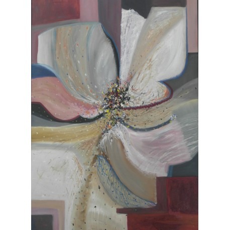 Obraz - Abstraktný kvet vďačnosti