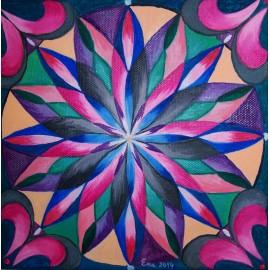 Obraz - Akryl - Mandala energetickej krásy - Ružena Pavlíková