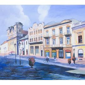 Obraz - Olejomaľba - Slávia - Košice - Mgr. Art. Jaroslav Staviščák