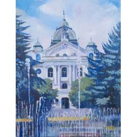 Obraz - Olejomaľba - Štátne divadlo I. - Mgr. Art. Jaroslav Staviščák