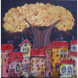 Obraz - Akryl - Strom života - Silvia Sochuláková