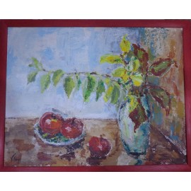Obraz - Akryl na sololite - Skrinka v kuchyni - Monika Vitányi