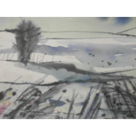 Obraz - Zemplínska zima