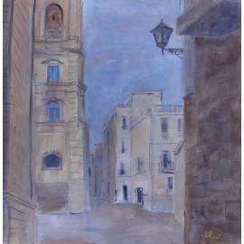 Obraz- Akryl- Spomienka na bary v Taliansku - Ing. arch. Eva Lorenzová