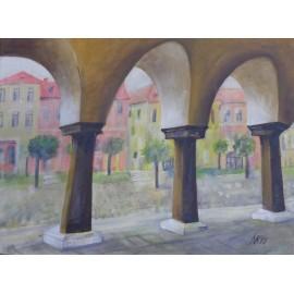Obraz- Akryl- Levoča- Eleonóra Kovalčíková